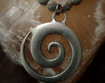 Infinity Beaded Necklace