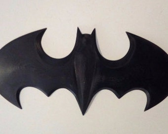 Batman logo printed in 3D