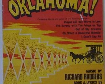 OKLAHOMA! Songs Music Sheet Book
