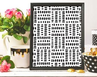 line art, Black And White,Digital art, Black Ink, Minimalist Print, Home Decor, Nursery Decor, Modern Art Print, Instant Download, Ink art