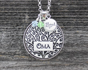 Oma Handmade Pottery Necklace