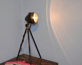 Vintage Lucas King Of The Road Tripod Lamp