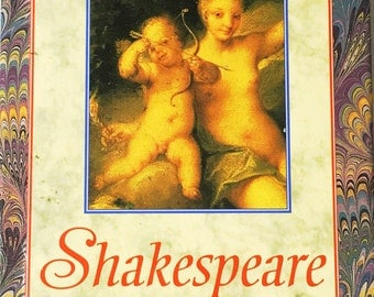Beautiful vintage Shakespeare Sonnet book!  The perfect LDR gift!  Poetry.  Vintage book.  No writing inside!  Beautiful book lover gift!