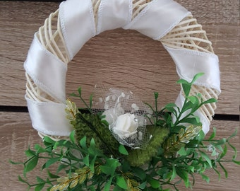 Door wreath decoration