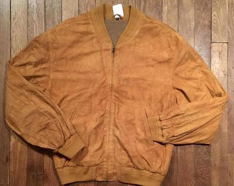 XL 80's suede jacket