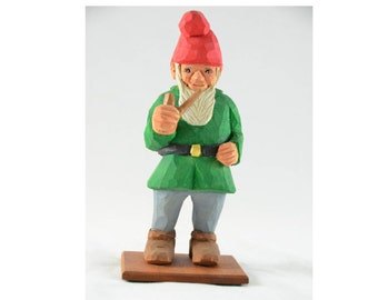 Gnome with a Pipe