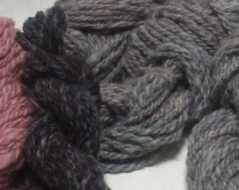 Bulky Handspun Wool Yarn (Lot 24)