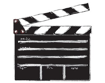 Action! Clapboard - Unsigned