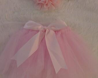 Baby Girl Pink Tutu Set Newborn Outfit