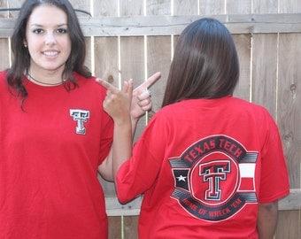 Texas Tech University Double T Wreck 'em T-Shirt