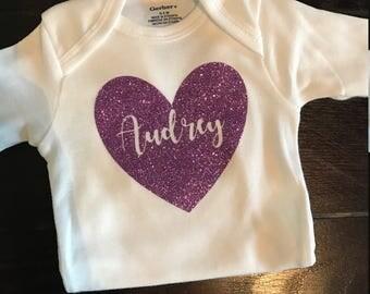 Personalized Baby Onesie | Custom Baby Onesie | Name Baby Onesie | Onesie with Name | best friend baby shower gift | baby shower gift |