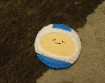 Adventure Time Finn the Human sew-on felt patch