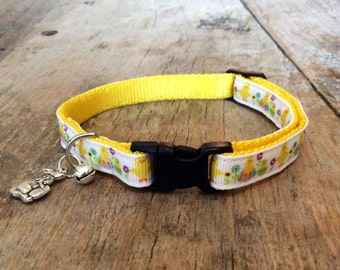 Little chicken cat collar