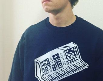Synth Sweatshirt Glow in the Dark Synthesizer