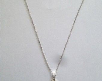 Fancy necklace heart love