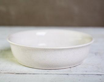 Vintage-White ceramic bowl-Food Photography Prop