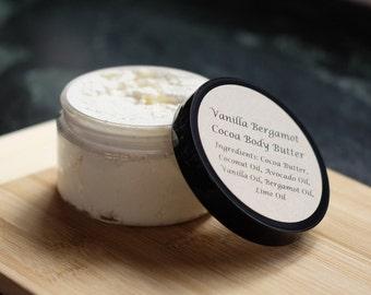 Vanilla Bergamot Cocoa Body Butter