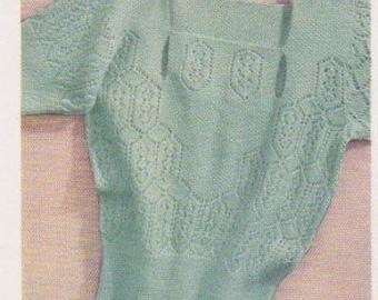 1935 Moss Stitch Vest