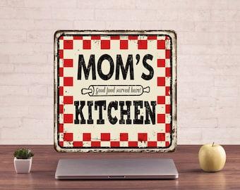 Mom's kitchen Signs, Mom's kitchen style, Mom's kitchen Decor, Mom's kitchen Art, Mom's kitchen Prints, Mom's kitchen Metal