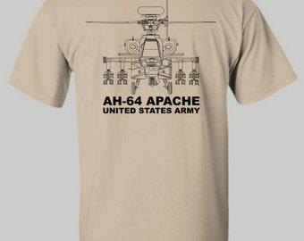 U.S. Army Apache shirt, US Army, Apache shirt, Hoodie, TShirt, Long Sleeve shirt