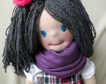 Raluca by Malina Dolls - New Unique Handmade Doll