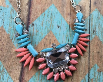 Southwest Jewelry, Turquoise Pendant. Southwest Necklace, Southwest Pendant. Southwest Necklace, Southwestern