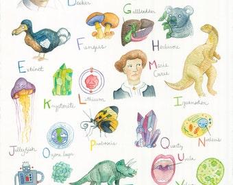 The Baby Science Alphabet