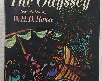 Homer, The Odyssey, Translated by W.H.D. Rouse, Paperback, 1962