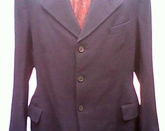 Jacket Three Button 1930s.