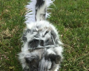 Posable Art Doll Spotted Skunk