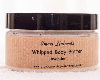 Organic Body Butter, Lavender Body Butter, Body Butter, Whipped Body Butter, Shea Body Butter, Natural Body Butter, Handmade Body Cream