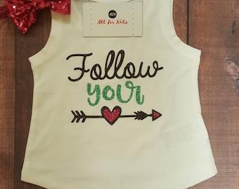 Baby Girl Clothes, Follow Your Arrow Tank top