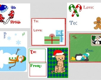 60 Gift Tags