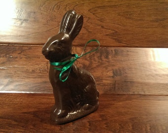 Solid Molded Easter Bunny