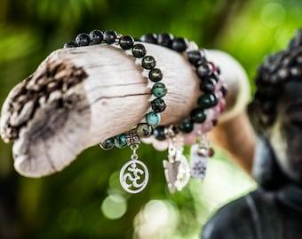 WISDOM | Aromatherapy Gemstone Diffuser Bracelet