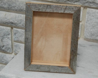 barn wood picture frame  5 x 7 (#222)