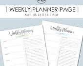 Weekly Planner Printable, Weekly Schedule, To Do List, Organizer, Printables, Printable Planner, Productivity, Printable Pages, Planner Page