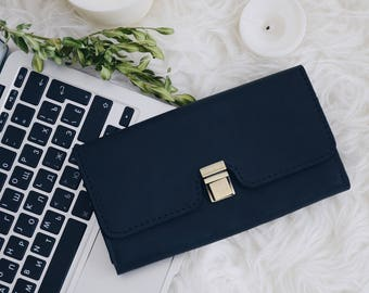 Leather wallet, purse, travel wallet, women wallet, best friend birthday, bifold wallet,minimalist wallet,passport holder,credit card wallet