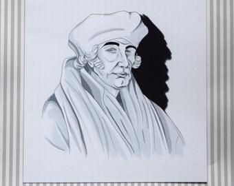 Tudor Man, Art Print