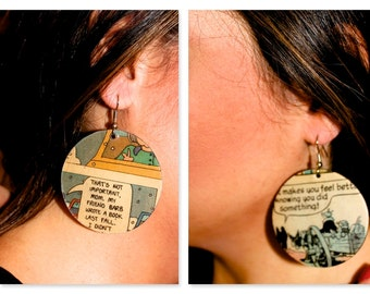 Comic Strip Earrings