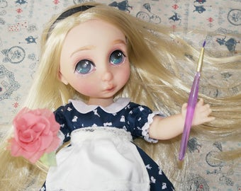 SOLD OOAK Disney Animator Doll Alice in Wonderland Repaint and clothes
