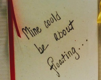 Zine: Mine Could Be About Floating