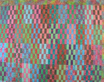 Sweet Batik Jelly Roll Fun Quilt