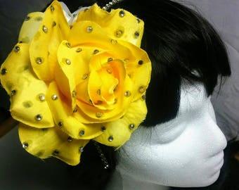 Gabrielle Flower Headband