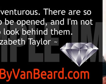 Elizabeth Taylor Diamond Facebook™ Profile Timeline Cover
