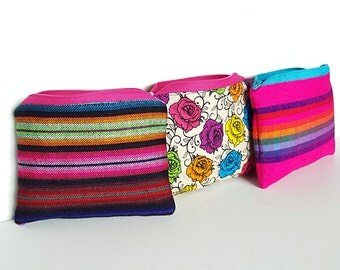 Serape Coin Purse, Serape Card Holder, Small, Mexico Serape, Fiesta Coin Purse, Coin Purse