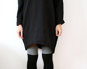 Oversize sweatshirt with details