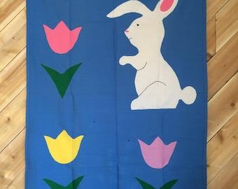 Seasonal Spring Bunny Flag