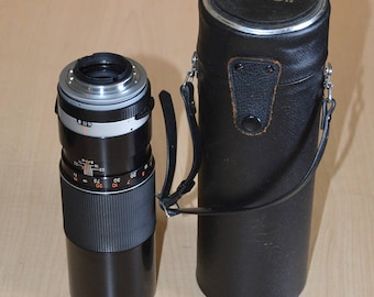 Tamron Adaptall 300mm f/5.6 lens for Nikon w/ case