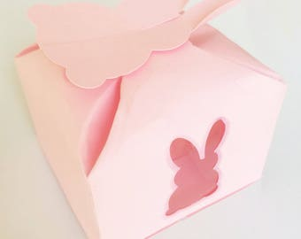 Bunny Petal Truffle Box Template For Silhouette or Other Die-Cutting Machines